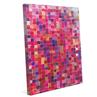 'Rose Mosaic' Canvas Wall Graphic Art