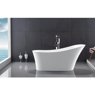 Legion Furniture 67-inch Freestanding Bathtub