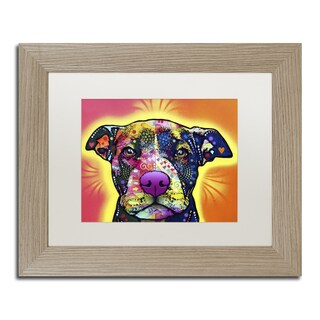 Dean Russo 'Love A Bull' Matted Framed Art