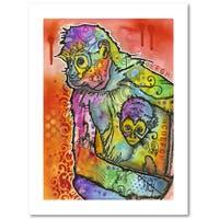 Dean Russo 'Monkey 1' Paper Art