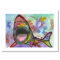 Dean Russo 'Shark 1' Paper Art