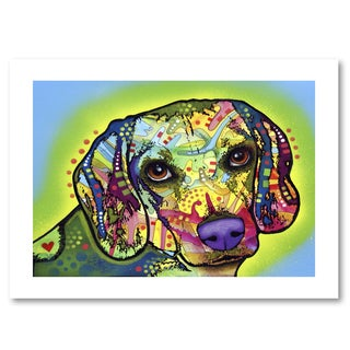 Dean Russo 'Beagle' Paper Art