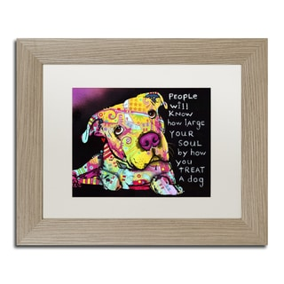 Dean Russo 'Firu' Matted Framed Art