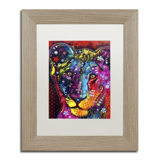 Dean Russo 'Young Lion' Matted Framed Art