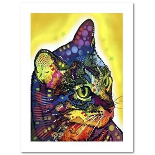 Dean Russo 'Confident Cat' Paper Art