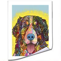 Dean Russo 'Bernese Mountain Dog' Paper Art