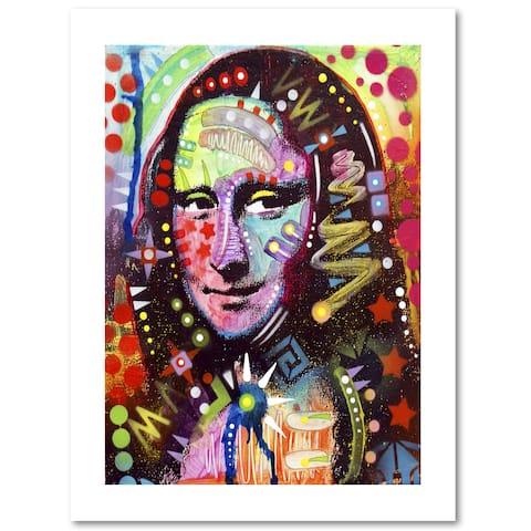 Dean Russo 'Mona Lisa' Paper Art