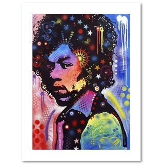 Dean Russo 'Jimi Hendrix IV' Paper Art