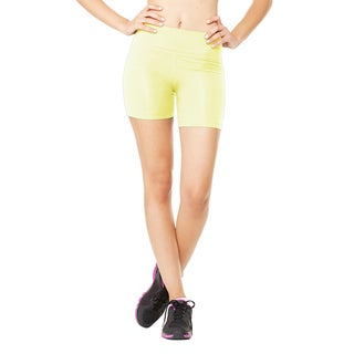Fitted Women's Sport Safety Yellow Short