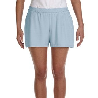 Women's Light Blue Performance Short Sport