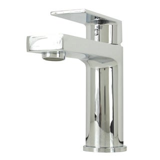 Anna Style Chrome Solid Brass Single-hole Lever Bathroom Vanity Lavatory Faucet