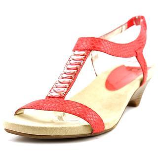 Anne Klein Women's 'Teah' Basic Textile Sandals