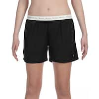 Polyester Women's Mesh Body Mesh Black Short