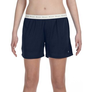 Polyester Women's Mesh Body Mesh Navy Short