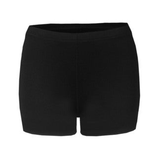 2.5-inch Inseam Women's Blended Compression Black Short