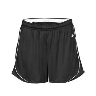 3-inch Inseam Women's Pacer Performance Black/ White Short