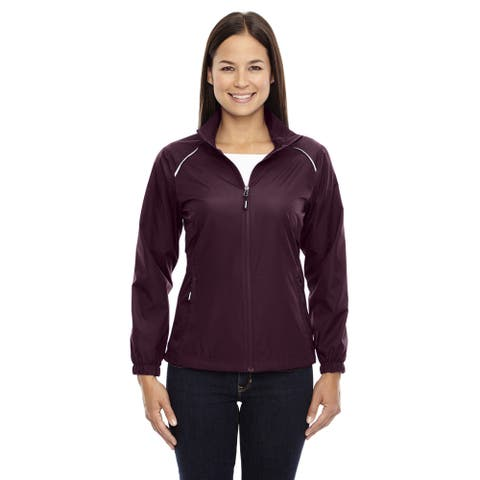 Motivate Women's Unlined Lightweight Burgundy 060 Jacket