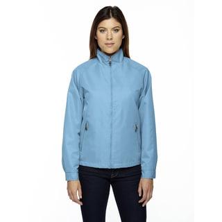 Mid-length Women's Micro Twill Blue Drop 895 Jacket