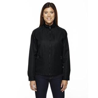 Mid-length Women's Micro Twill Black 703 Jacket