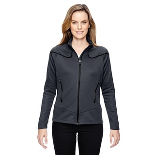 Interactive Women's Cadence Two-tone Brush Back Carbon 456 Jacket