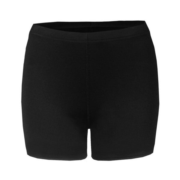4-inch Inseam Women's Blended Compression Black Short