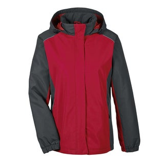 Inspire Women's Colorblock All-season Classic Red/ Carbon 850 Jacket