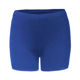 4-inch Inseam Women's Blended Compression Royal Short