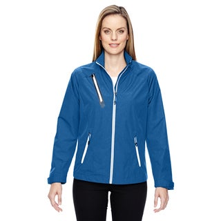 Frequency Women's Lightweight Melange Nautical Blue 413 Jacket