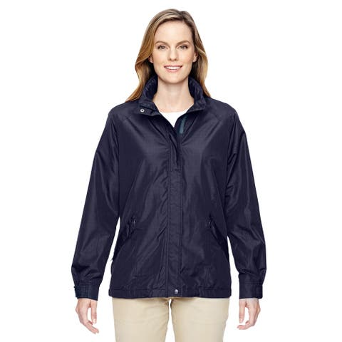 Excursion Women's Transcon Lightweight with Pattern Navy 007 Jacket