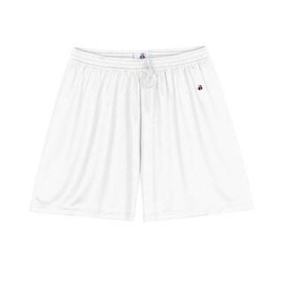 5-inch Women's B-dry Core White Short