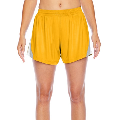 All Sport Women's Sport Athletic Gold Short