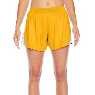 All Sport Women's Sport Athletic Gold Short