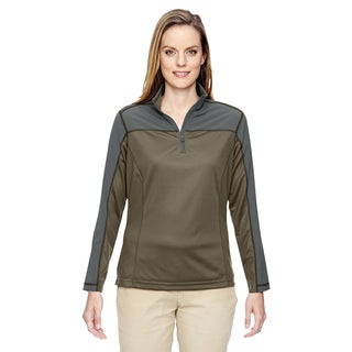 Excursion Women's Dark Oakmoss 487 Circuit Performance Half-zip