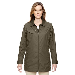 Excursion Women's Ambassador Lightweight with Fold Down Collar Dark Oakmoss 487 Jacket