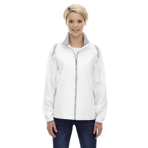 Endurance Women's Lightweight Colorblock White 701 Jacket