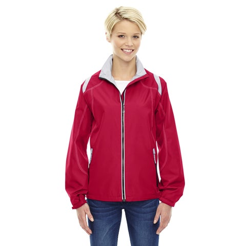 Endurance Women's Lightweight Colorblock Olympic Red 665 Jacket
