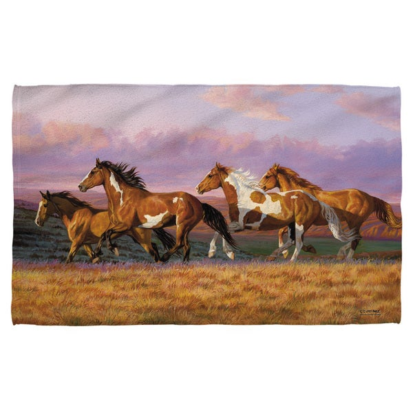 Wild Wings/Sunset Cruise 2 Polyester Beach Towel
