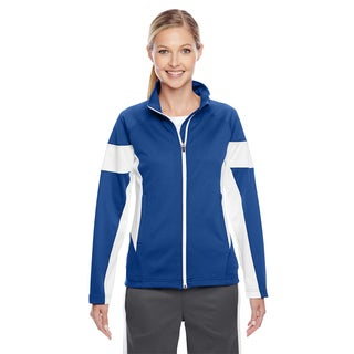Elite Women's Royal/ White Performance Full-zip Sport