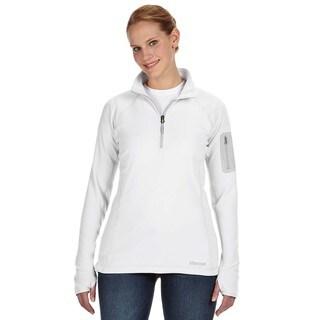 Flashpoing Women's Half-zip White Sweater