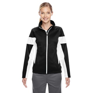 Elite Women's Black/ White Performance Full-zip