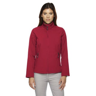 Cruise Women's Two-layer Fleece Bonded Soft Shell Classic Red 850 Jacket