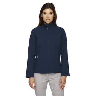 Cruise Women's Two-layer Fleece Bonded Soft Shell Classic Navy 849 Jacket|https://ak1.ostkcdn.com/images/products/12264741/P19104850.jpg?impolicy=medium