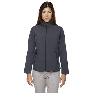 Cruise Women's Two-layer Fleece Bonded Soft Shell Carbon 456 Jacket
