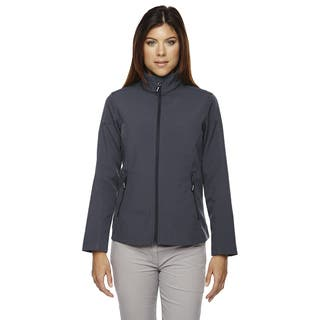 Cruise Women's Two-layer Fleece Bonded Soft Shell Carbon 456 Jacket|https://ak1.ostkcdn.com/images/products/12264752/P19104851.jpg?impolicy=medium
