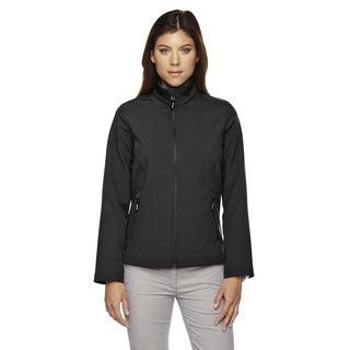 Cruise Women's Two-layer Fleece Bonded Soft Shell Black 703 Jacket