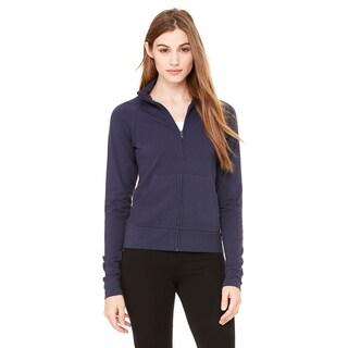 Cotton/ Spandex Women's Cadet Navy Jacket