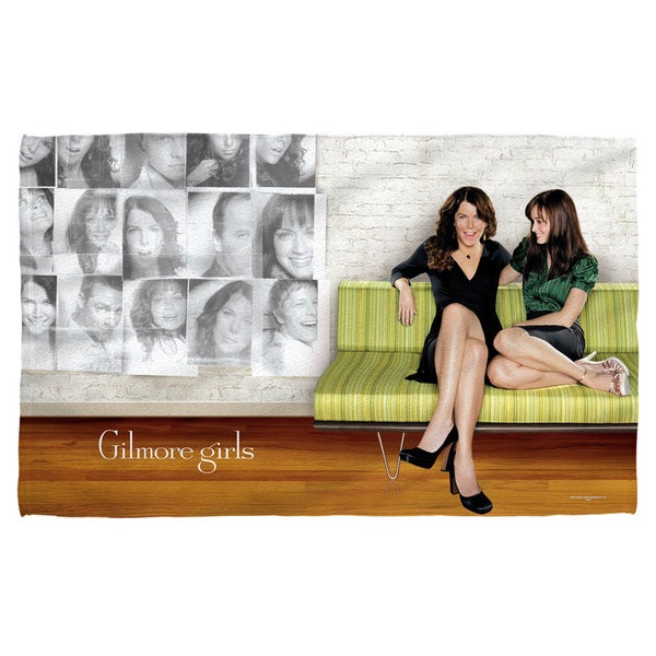 Gilmore Girls/Couch Beach Towel