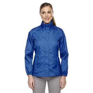 Climate Women's Seam-sealed Lightweight Variegated Ripstop True Royal 438 Jacket