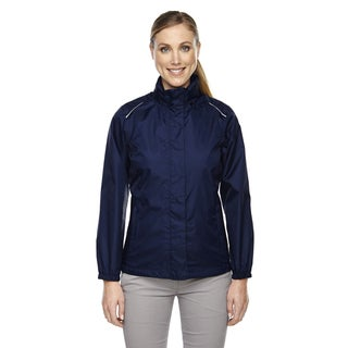 Climate Women's Seam-sealed Lightweight Variegated Ripstop Classic Navy 849 Jacket