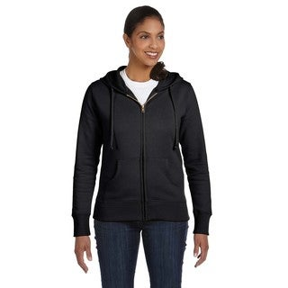 Women's Organic/ Recycled Charcoal Full-zip Hoodie